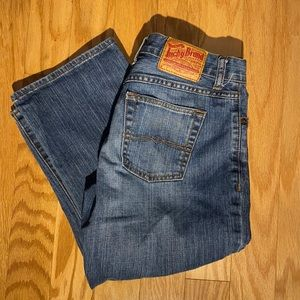 Lucky Brand Classic Fit Crop jean capris size 30